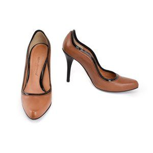 DOLCE & GABBANA: Saddle Brown, Leather Heels/Pumps